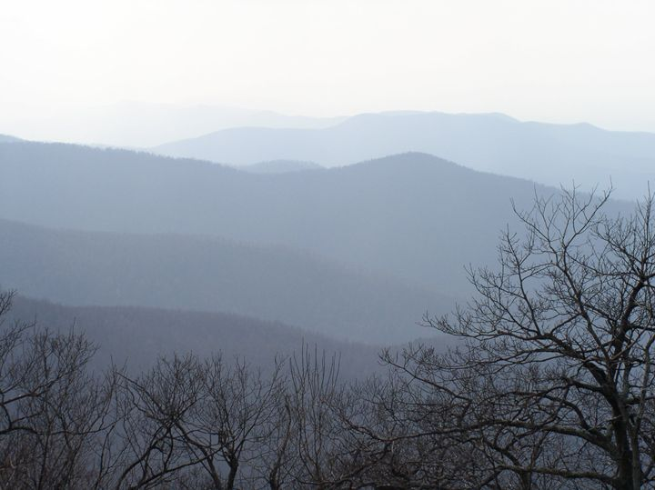 Blue Ridge Grey - Ben Salomonsky Photographic Designs