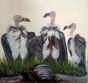 Vultures - Smile Art Studio