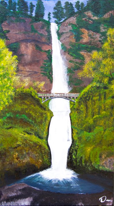 Multnomah Falls - Creations from Europe by TA Mabry