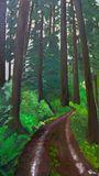 16X36 acrylic on canvas