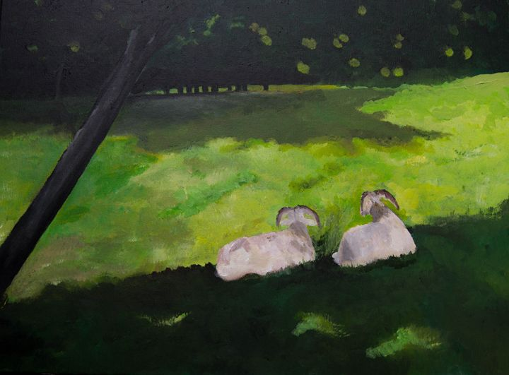 Lost Heligan Sheep - Creations from Europe by TA Mabry