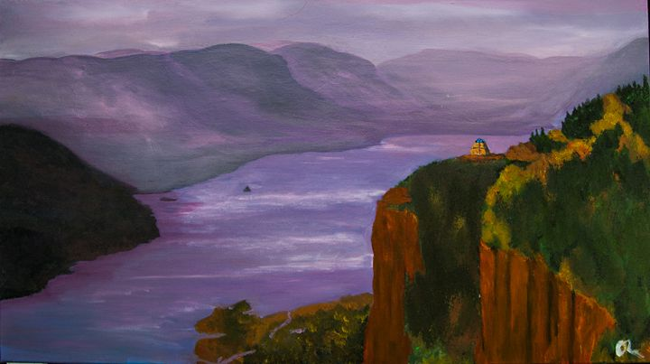 Columbia River Gorge - Creations from Europe by TA Mabry