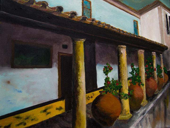 Obidos Veranda - Creations from Europe by TA Mabry