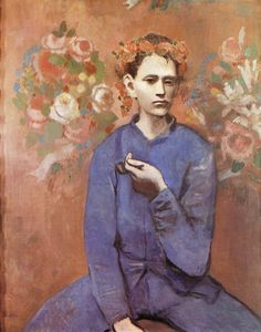 Boy with a Pipe-Pablo Picasso[1905]