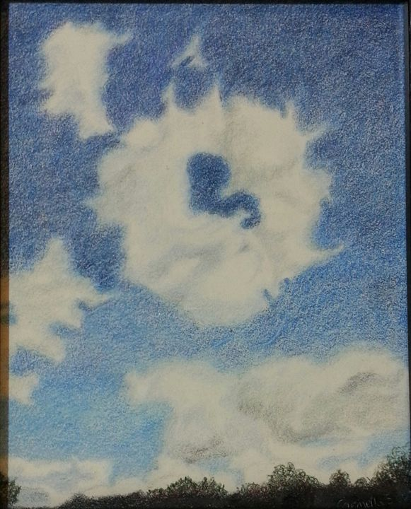 Blue Skies Smiling at Me - Carmella Scott