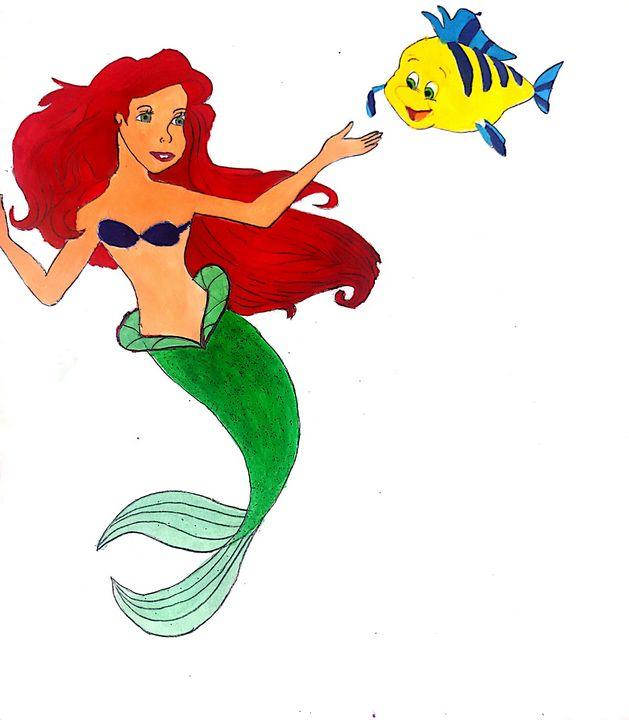Mermaid cartoon - Ramyasree