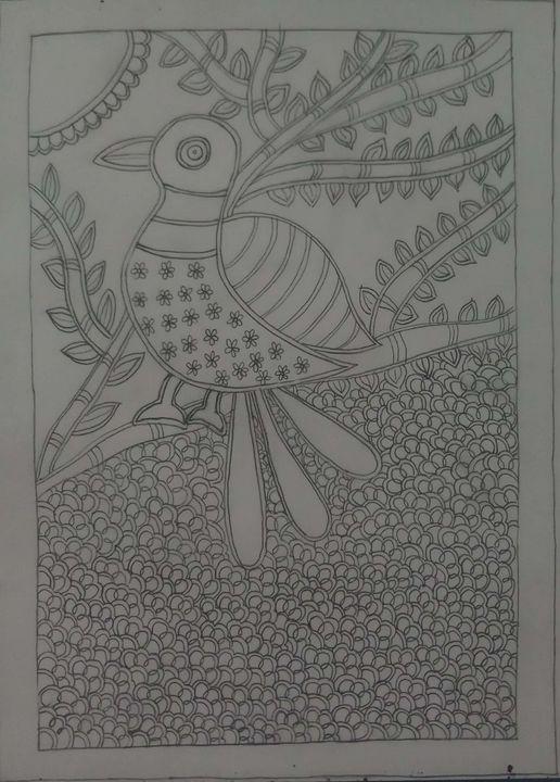 Madhubani art - Ramyasree