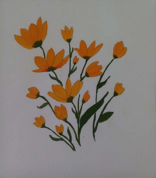 Colorful blooms - Ramyasree