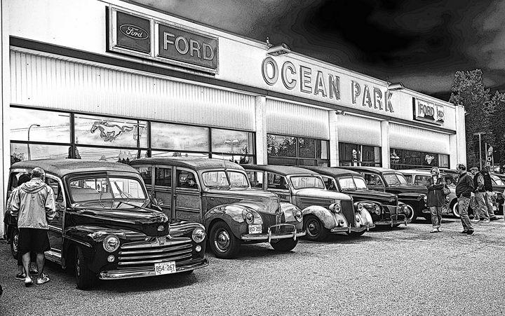 Ocean Park Ford's Woodys - R.Harris Photography