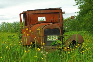 Old Rusted Washington Ford