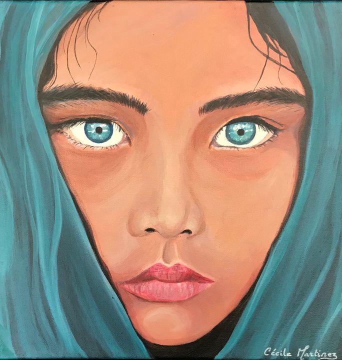 petite afghane - Cécile Martinez