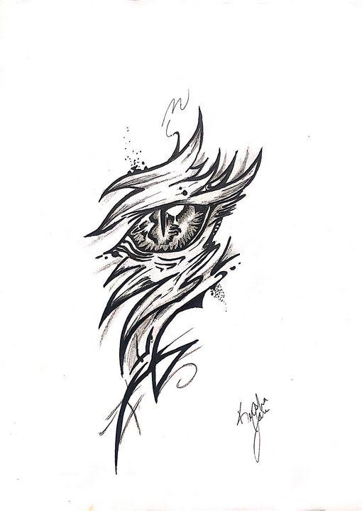 Eye of the tornado - •Art by Keesha•