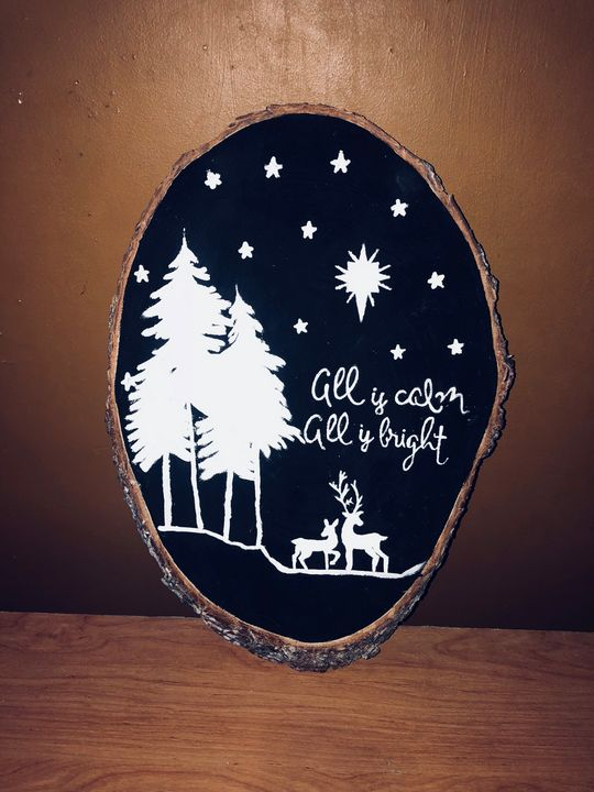 All is calm all is bright - •Art by Keesha•