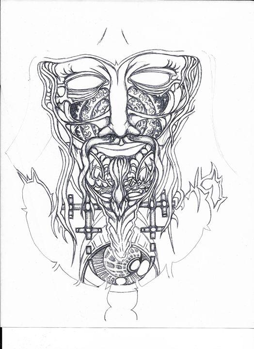 Demon in Ink - Necromancer