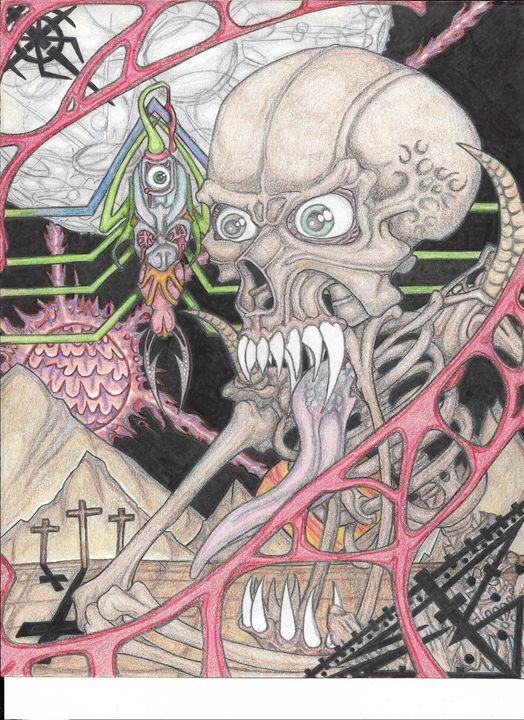 Demon in Pencil - Necromancer