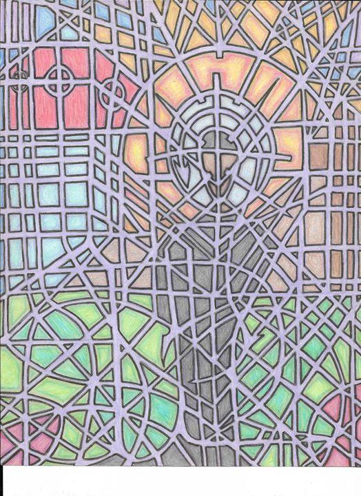 Stained Glass Jesus - Necromancer