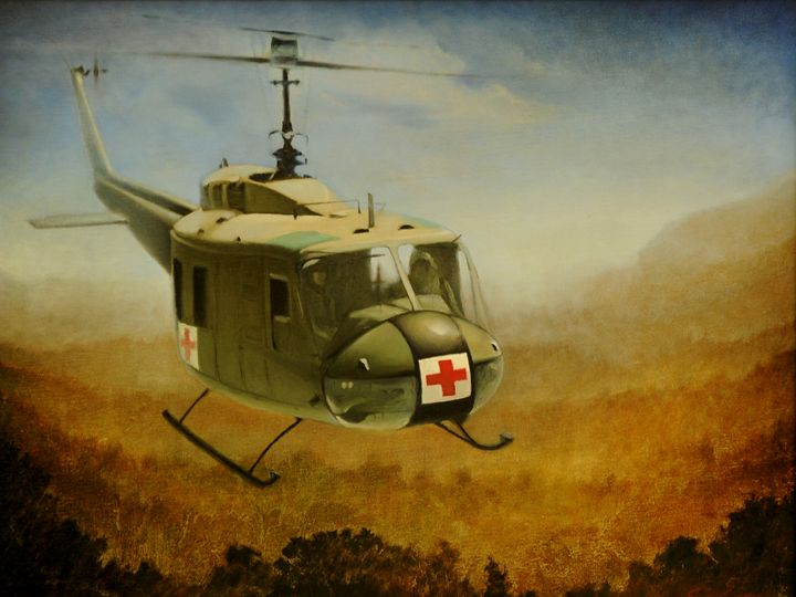Huey Helicopter Bell UH-1H Iroquois - Penny