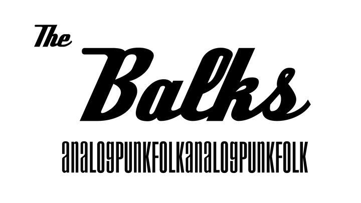 The Balks Poster - The Balks