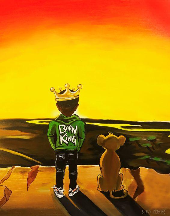 Young Simba - Shawn Mitchell Perkins