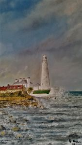 St. Mary`s Lighthouse.