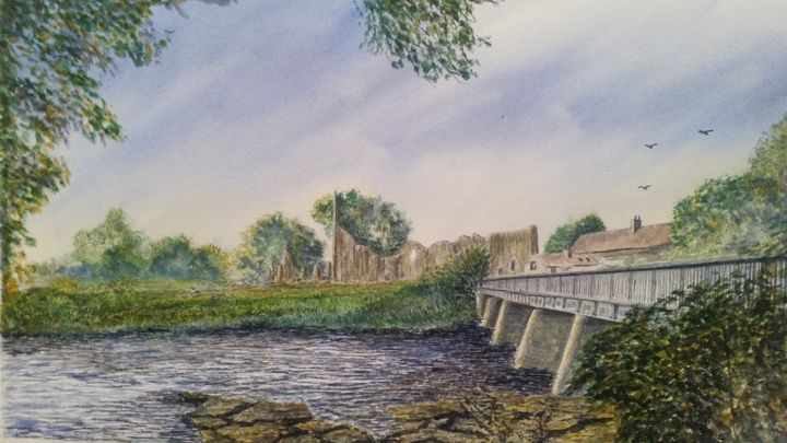Finchale Priory - Steve Allison Art