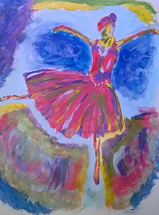 Dancing Ballerina - Mikes Artwork