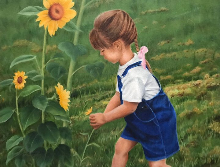 Flower picking - ImpressedbyJones