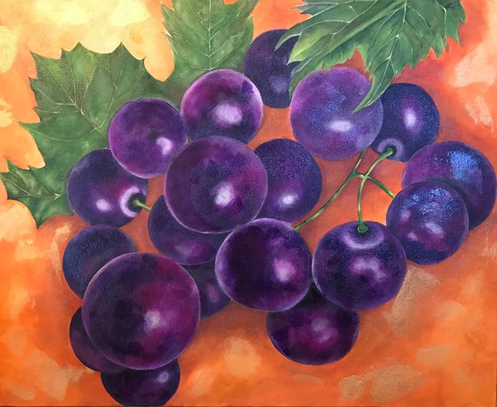 Grapes on the Vine - ImpressedbyJones