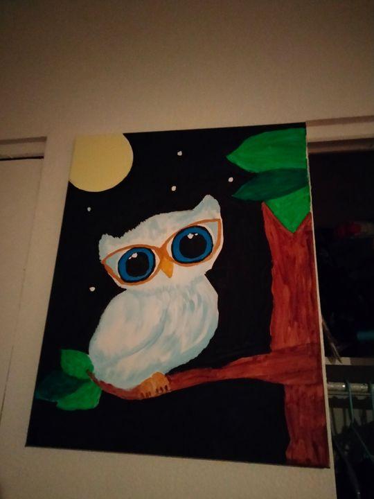 Still of the night OWL - Pride Art Gallery