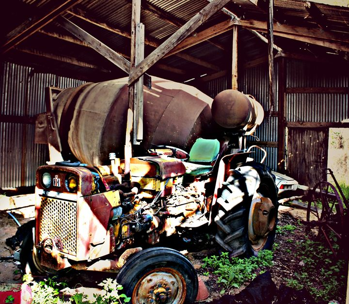 Old Tractor - Photo Speaks Photography