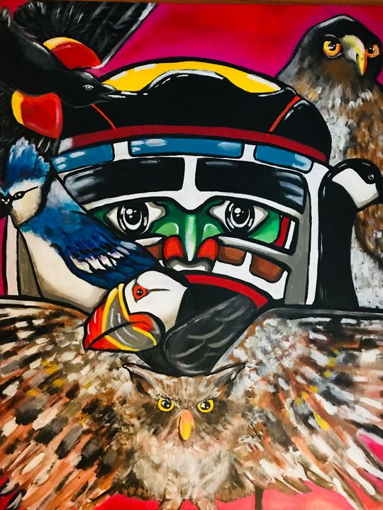 Canadian Totem - JackalStudio16