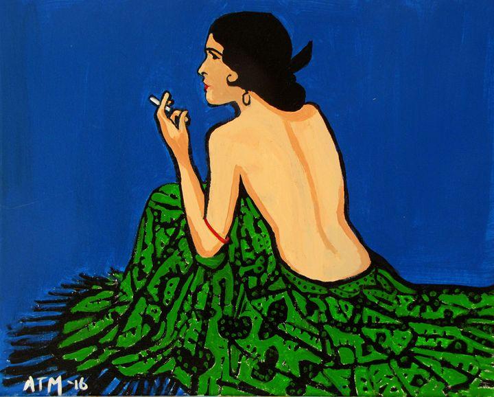 The cigarette - JackalStudio16