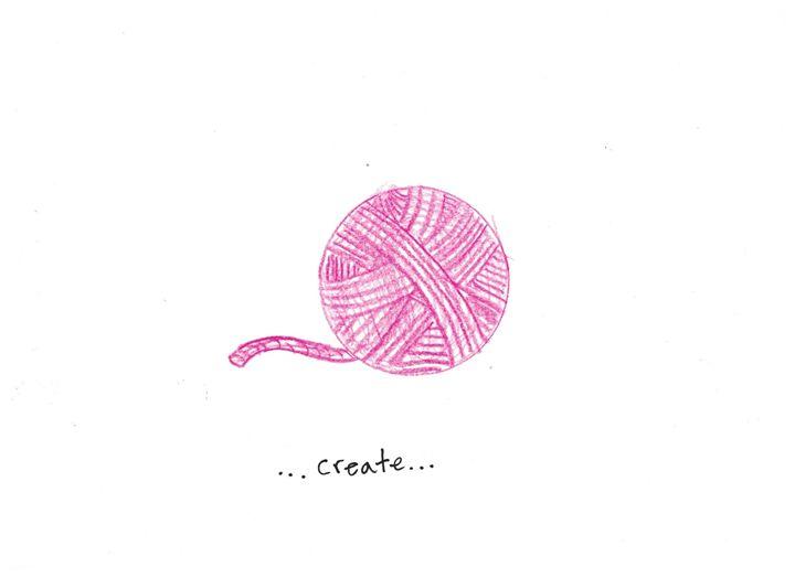 Create - Ruby Fey Art