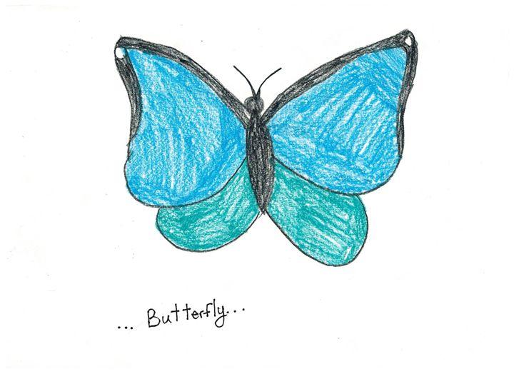 Butterfly - Ruby Fey Art