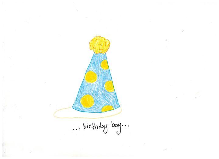 Birthday Boy - Ruby Fey Art