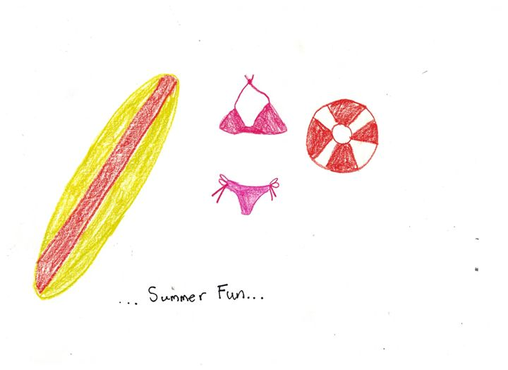 Summer Fun - Ruby Fey Art
