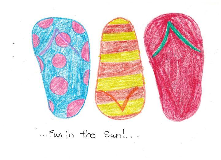 Fun in the Sun! - Ruby Fey Art