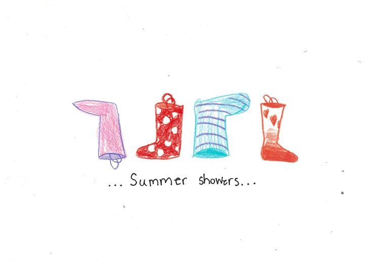 Summer Showers - Ruby Fey Art