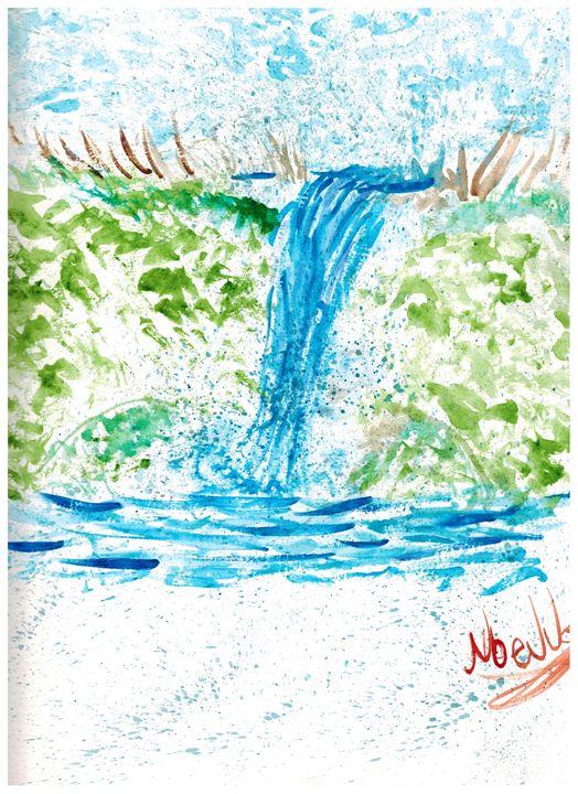 Waterfall - Ruby Fey Art