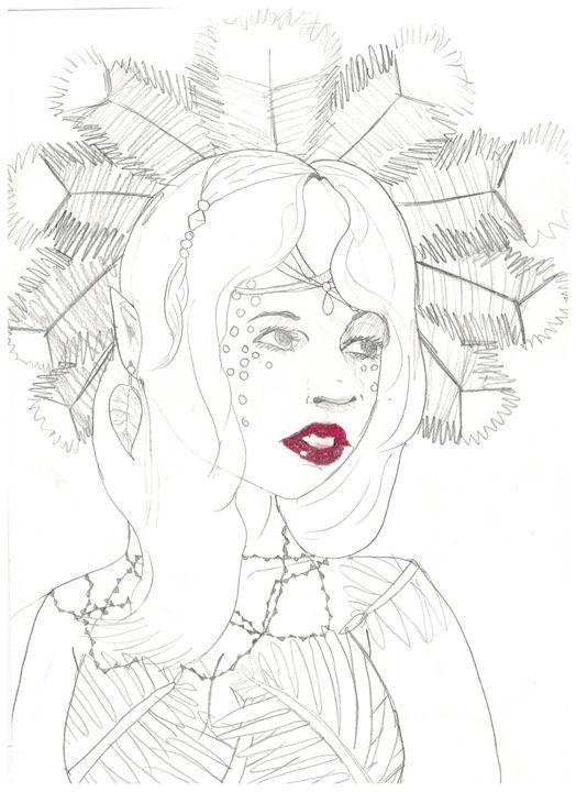 Spirit of the Amazons - Ruby Fey Art