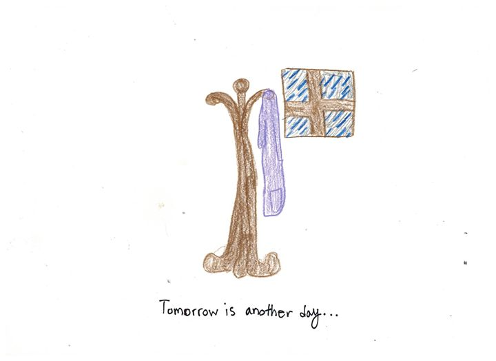 Tomorrow is Another Day - Ruby Fey Art