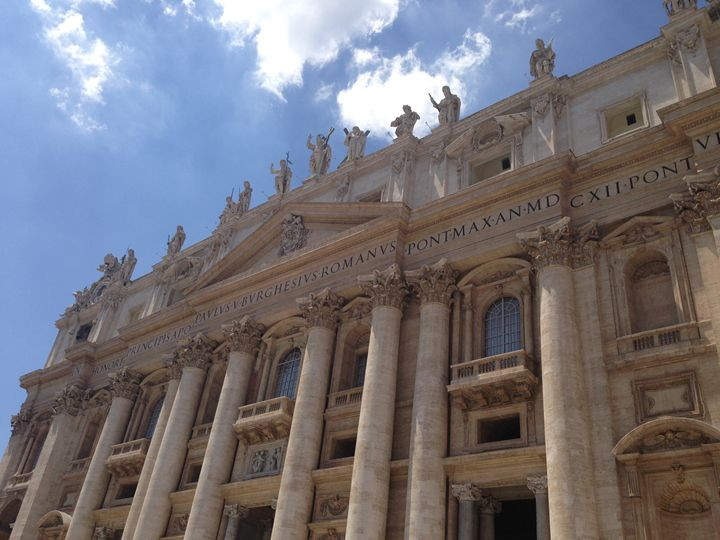 Saint Peter's Basilica - PeaceAndSerenityArt