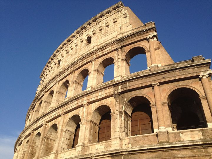 The Colosseum at Day - PeaceAndSerenityArt