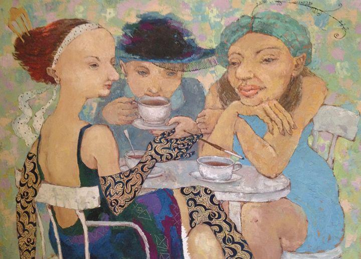 3 Russian Ladies by Elena Kallistova - Ford