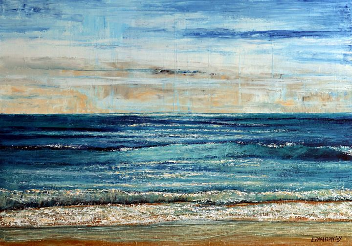 Beautiful Day Seascape - Dimitra Papageorgiou