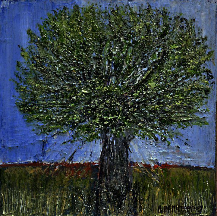 Small Olive Tree 5 - Dimitra Papageorgiou
