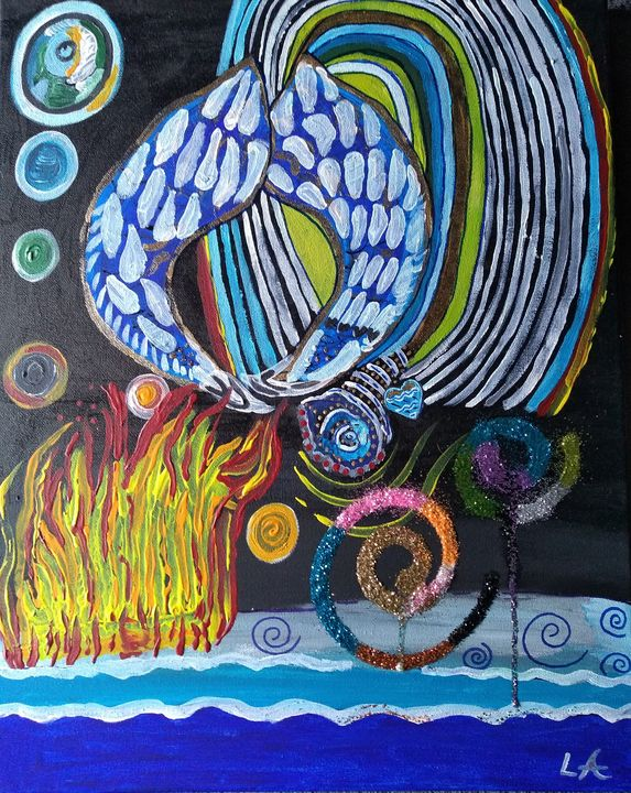 Portal to Heaven - Lakota squaw art