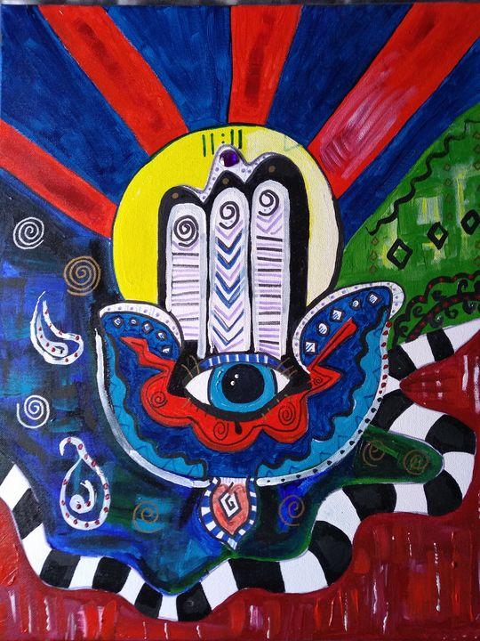 The hand of Fate - Lakota squaw art
