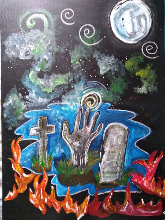 Zombie apocalypse - Lakota squaw art