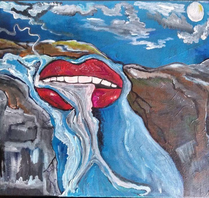 Just chilling - Lakota squaw art